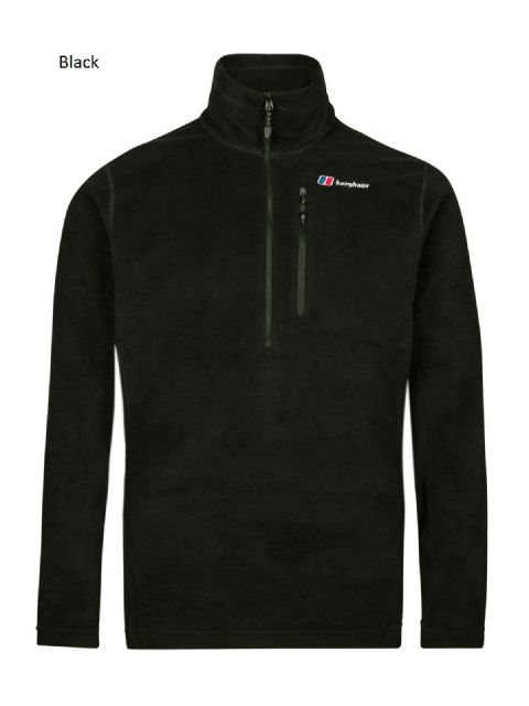 Berghaus Mens Prism Micro 1/2 zip fleece - fast drying - high performance